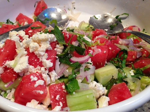 Shivani's Watermelon-Mint-Feta Salad